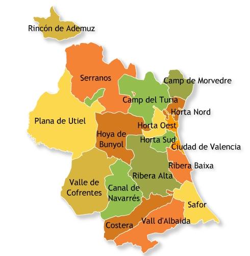 hoteles en valencia y provincia: